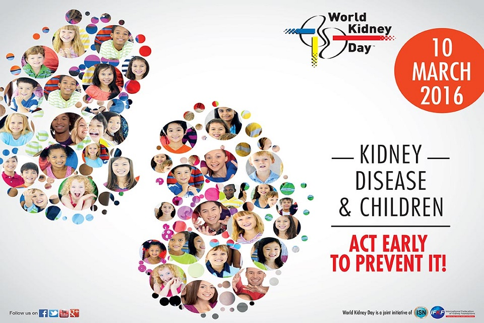 Kidney Month are both celebrated in March to increase awareness ...
