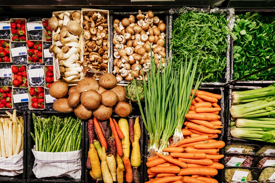 plant foods for a plant-based diet